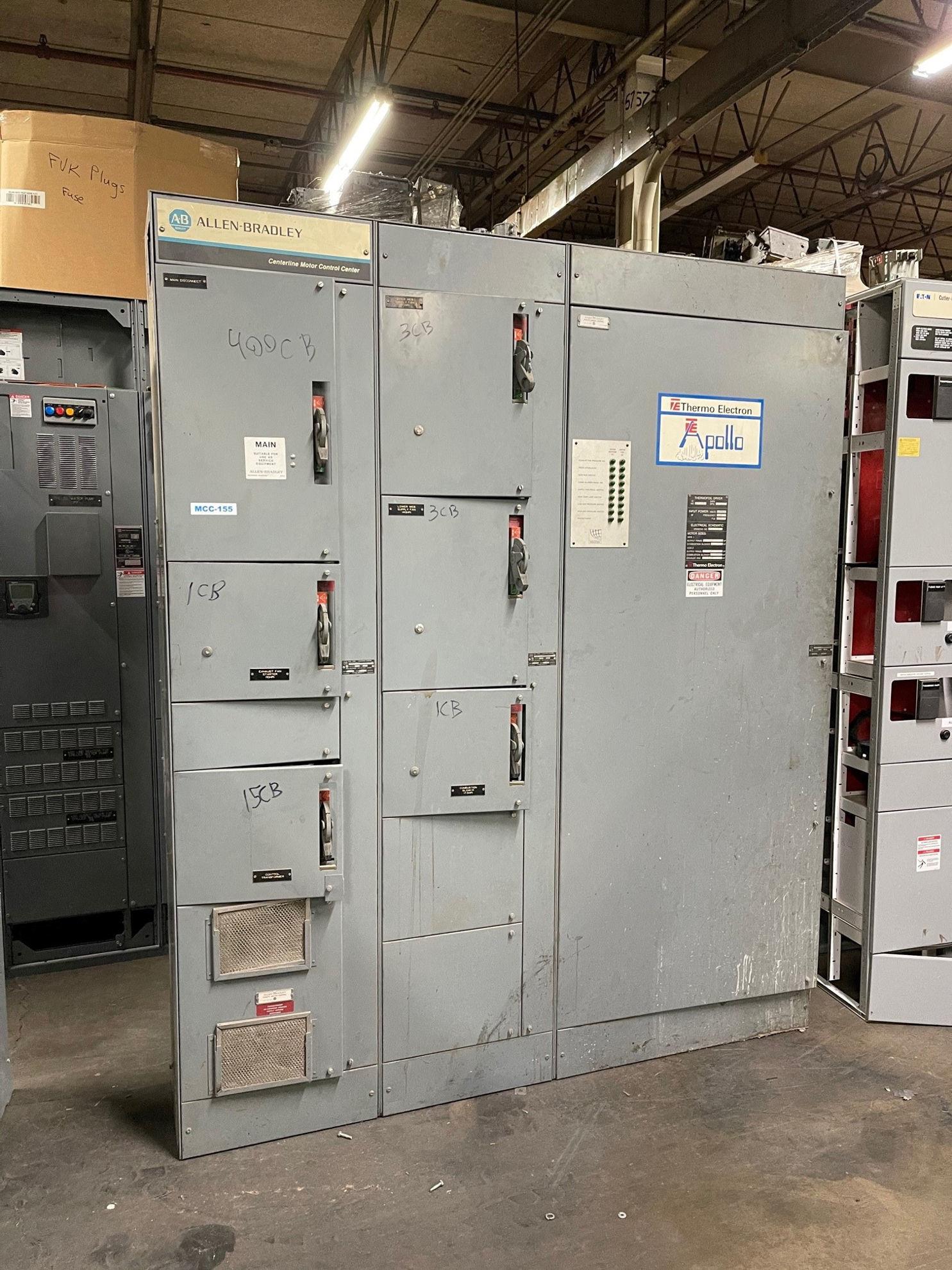 Picture of Allen-Bradley 2100 Series MCC 600 Amp Main Breaker 480Y/277 Volt