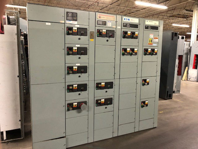 Picture of Cutler-Hammer Freedom 2100 Series MCC 600 Amp MLO 480Y/277 Volt