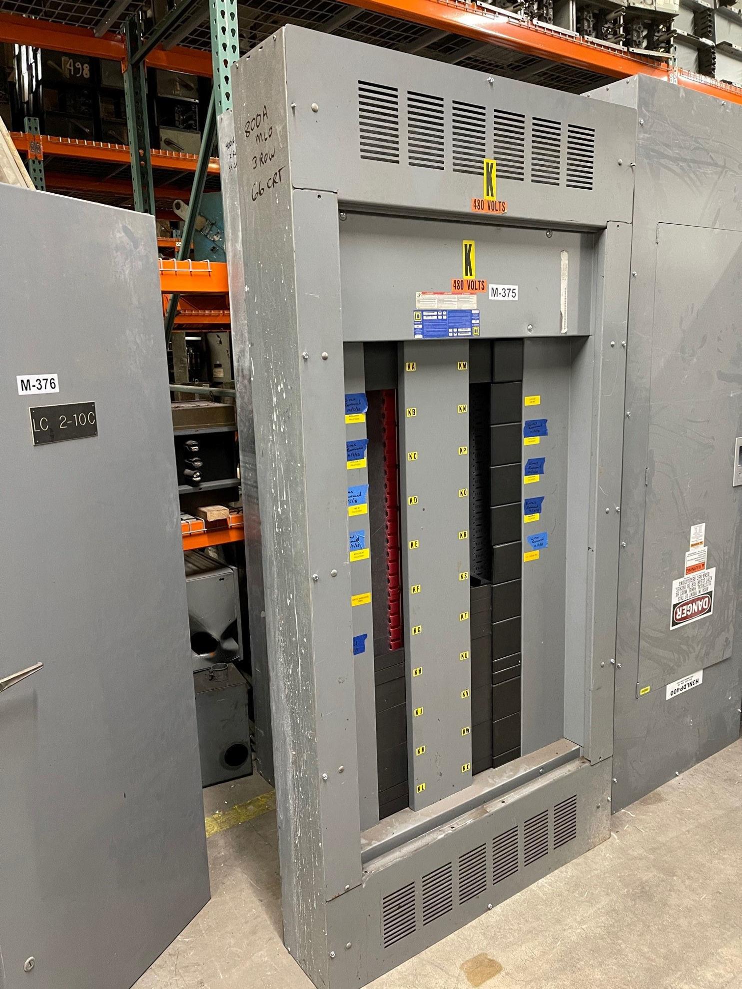 Picture of Square D I-Line Series Panelboard MLO 800 Amp 480/277 Volt NEMA 1