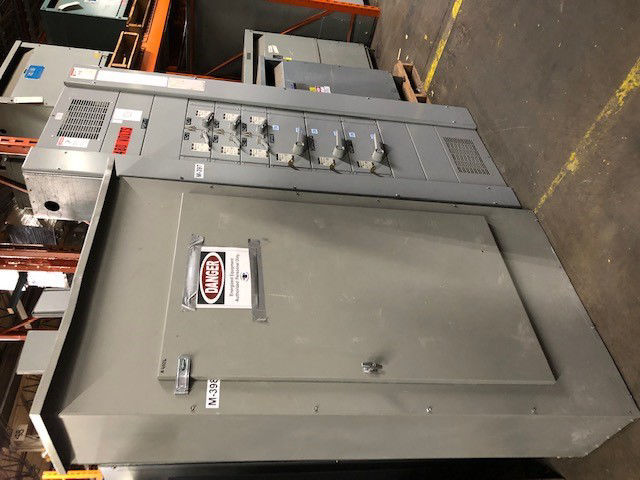 Picture of GE Spectra APN-B (Bolt-On) Panelboard MLO 800A 480Y/277 Volt NEMA 3R