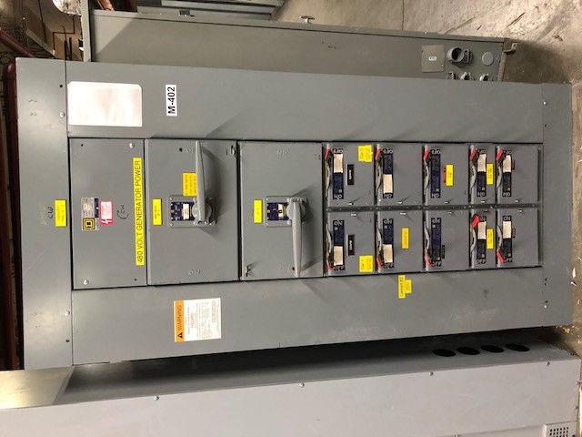 Picture of Square D QMB Panelboard QMB-3640-M Main Fusible 400 Amp 480 Volt NEMA 1