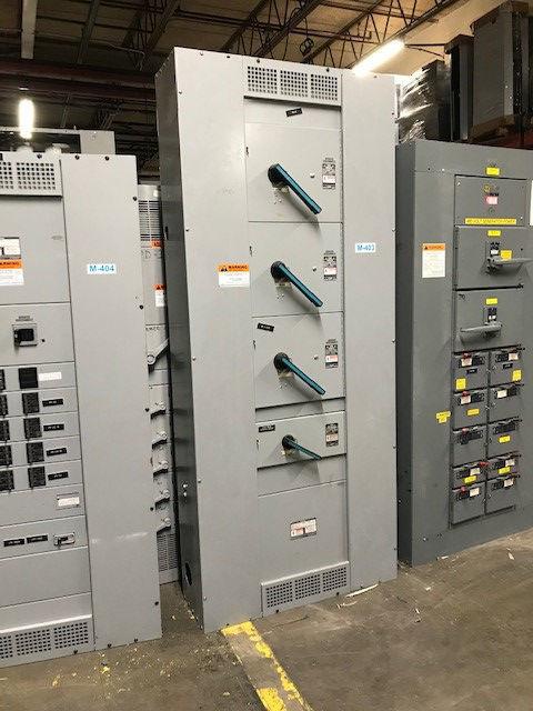 Picture of Siemens F2 Series Panelboard MLO 1000 Amp 208Y/120 Volt NEMA 1
