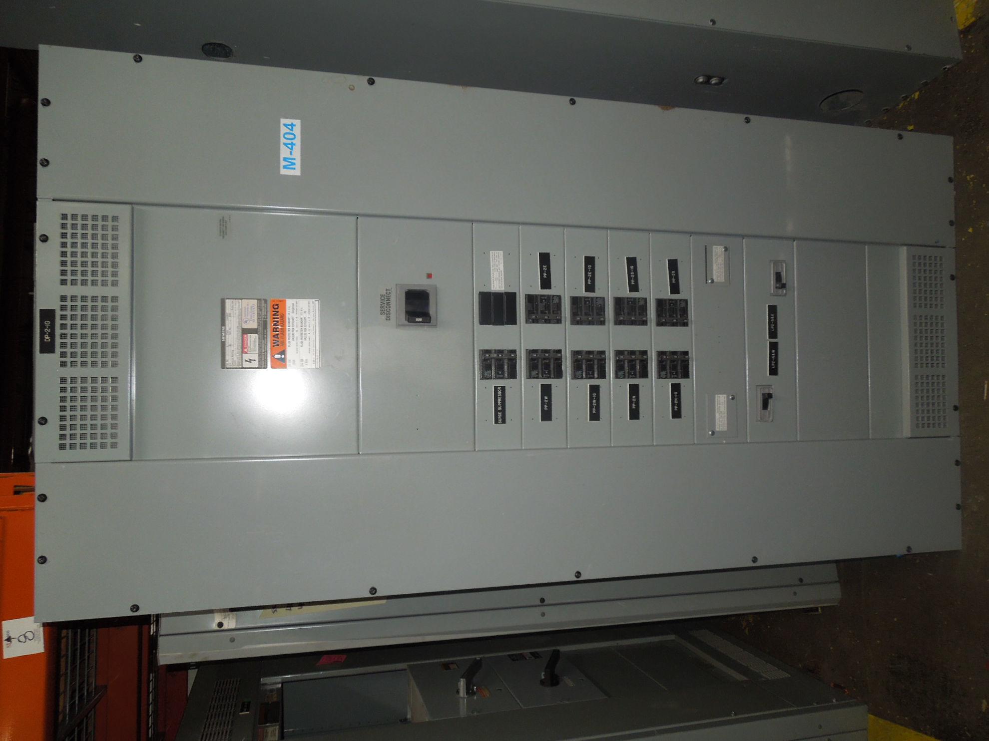 Picture of Siemens S5 Series Panelboard 800 Amp Main Breaker 208Y/120 Volt NEMA 1