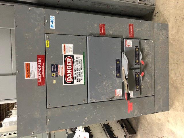 Picture of Square D QMB Panelboard MLO 600 Amp 480 Volt NEMA 1