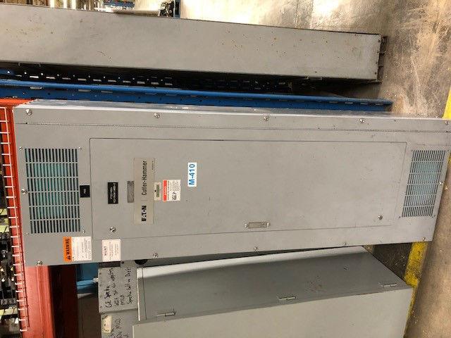 Picture of Cutler-Hammer PRL4 Series Panelboard KD3400 Main Breaker 400 Amp 480 Volt NEMA 1