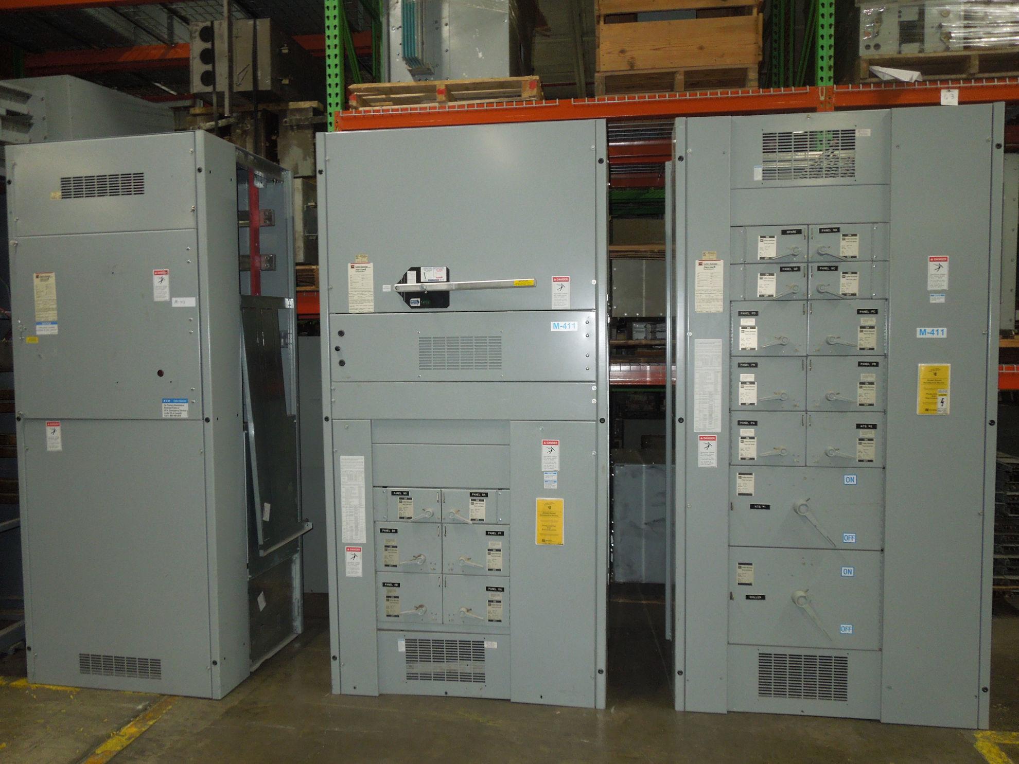 Picture of CH POW-R-LINE Switchboard 2000 Amp Fusible Main 480 Volt W/ No GF NEMA 1