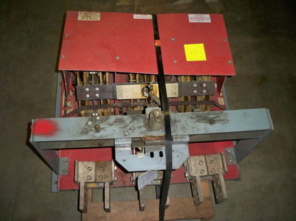 Picture of BLO32400 Red Back Plate Square D 4000 Amp 240 Volt Switch