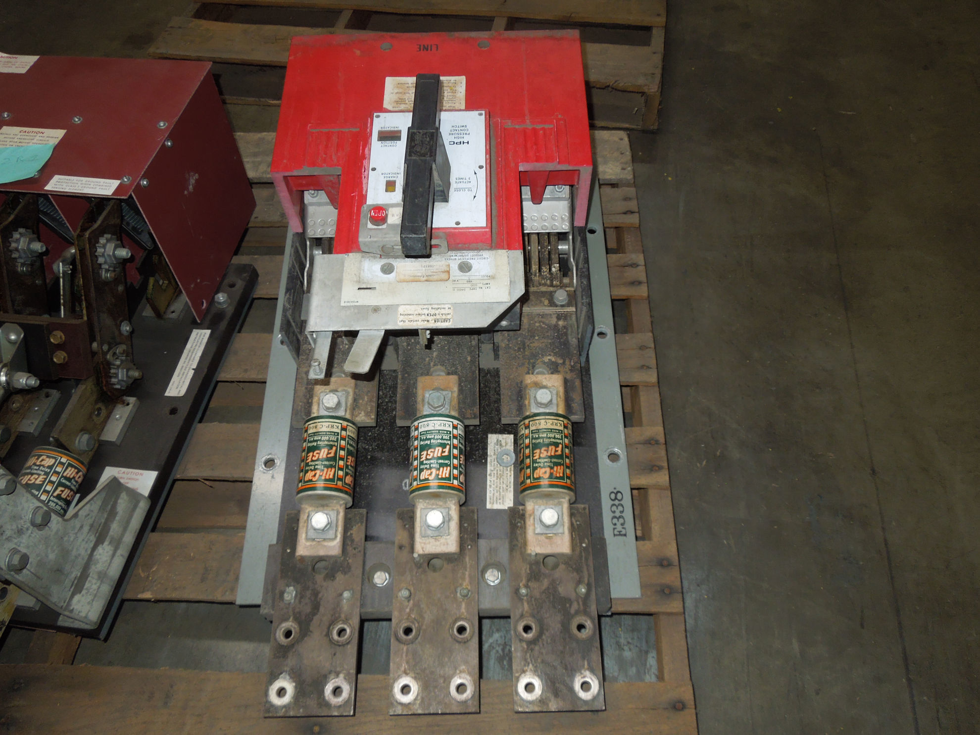 Picture of THPC3408B GE HPC Switch 800A 480V