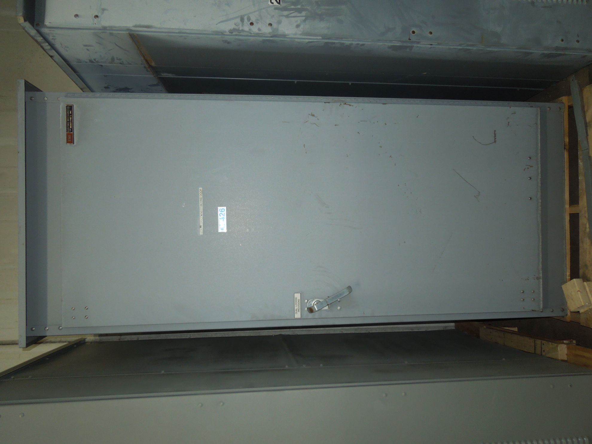 Picture of EMI MBPS Switchboard VLB348-ST Fusible Main 1200 Amp 480 VAC W/ GF Relay Nema 3R