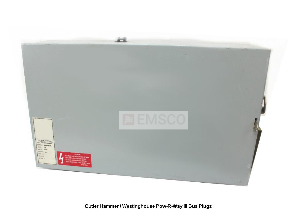 Picture of P3BMC3800 Cutler-Hammer/ Westinghouse Bus Plug