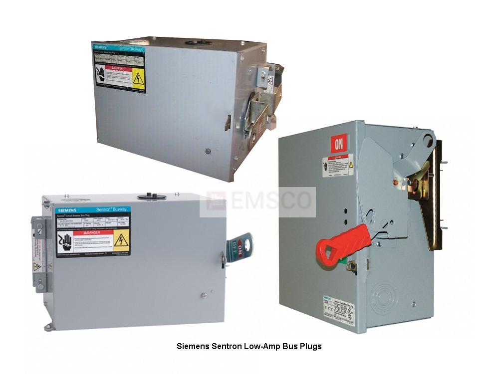 Picture of SLEC360800ED6 Siemens Bus Plug